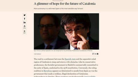 Más autonomía financiera: la propuesta del 'FT' para la crisis en Cataluña