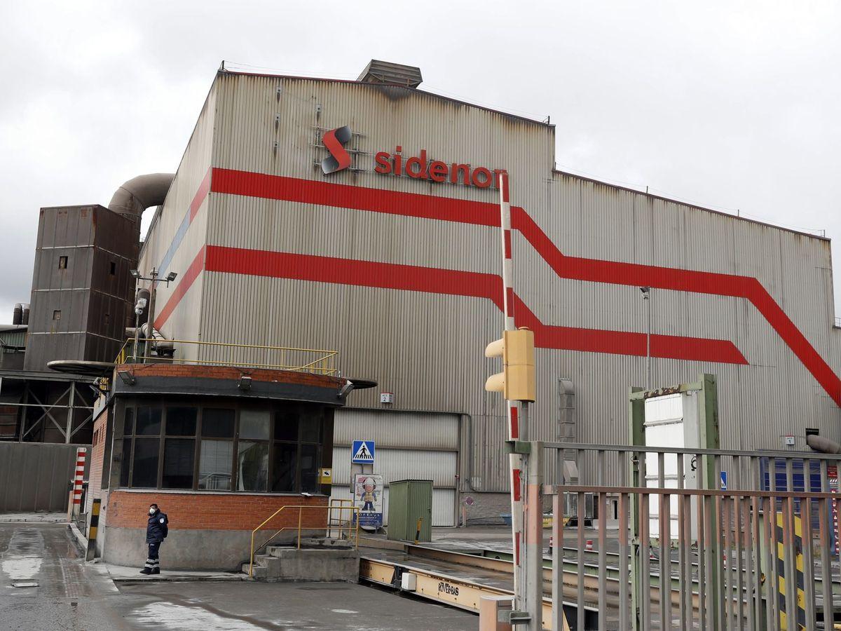 Foto: Fábrica de Sidenor en Bilbao. (EFE)