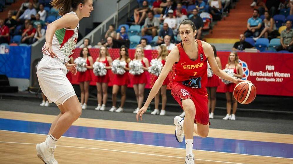 Foto: Alba Torrens debutó con la selección española en 2008, antes de los Juegos Olímpicos de Pekín. (FIBA)