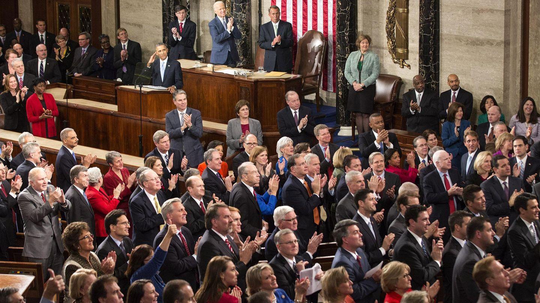 El público aplaude a Obama(Efe)