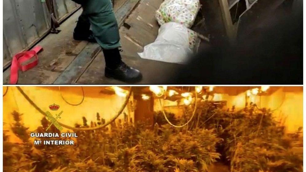 Foto: Detenidas 62 personas de una banda criminal dedicada al tráfico de drogas (Foto: Guardia Civil)