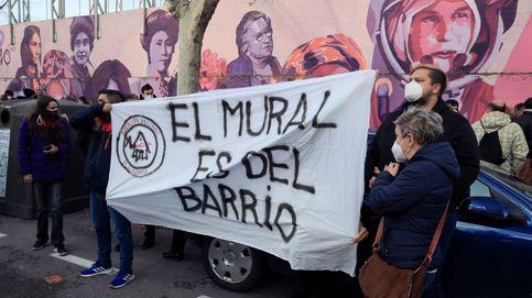 Sigue la polémica en Madrid por el mural feminista: de recogida de firmas a concentraciones