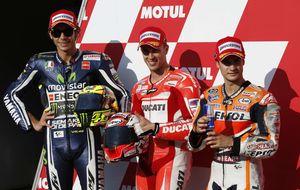 Dovizioso vuelve a hacer grande a Ducati con una pole tras 4 años