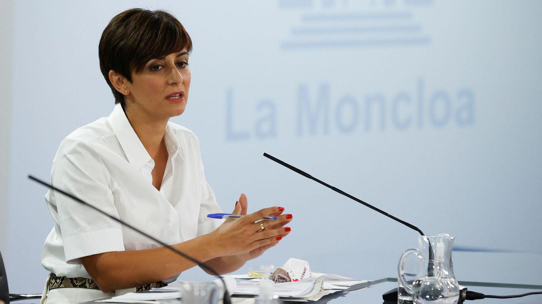 La ministra de Política Territorial y portavoz del Gobierno, Isabel Rodríguez. (EFE)