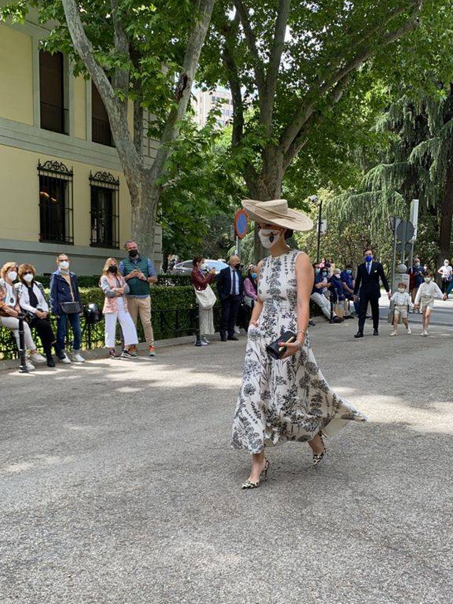 Barbara Mirjan, mujer de Cayetano Martínez de Irujo. (PI)