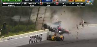 Post de Los óvalos del Indycar son algo muy serio: el brutal accidente de Robert Wickens