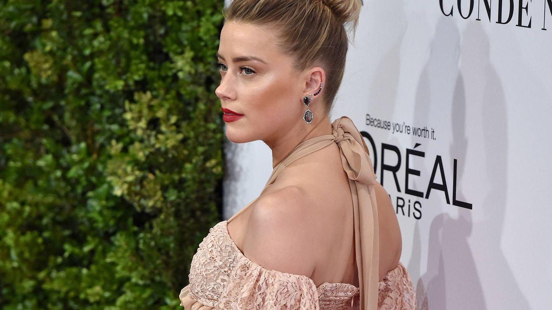 Foto: Amber Heard en una imagen de archivo (Gtres)