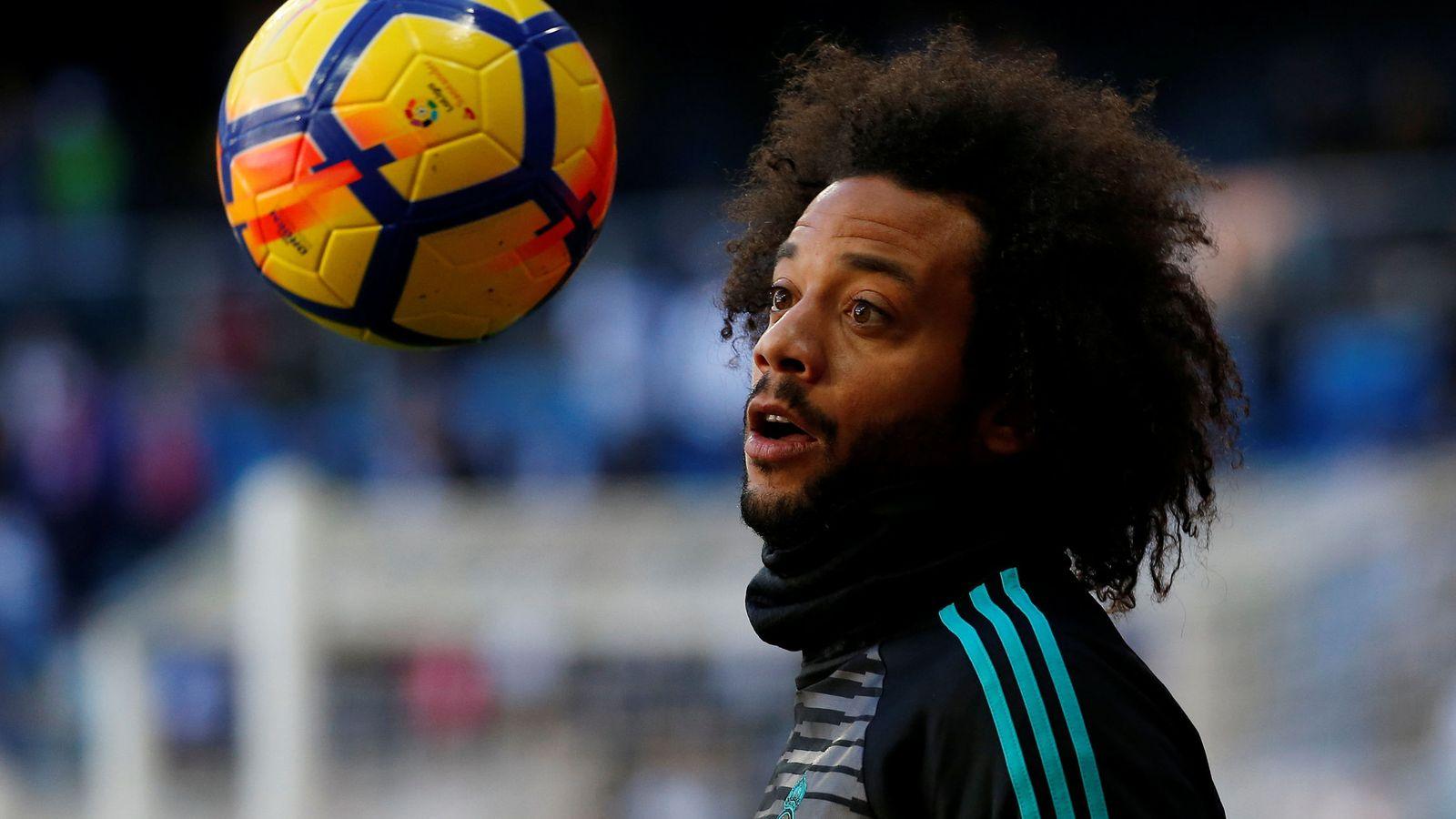Foto: Marcelo no está teniendo una buena temporada. (Reuters)