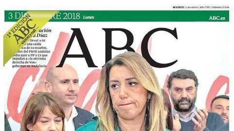 Susana Díaz y VOX, protagonistas de las portadas de la prensa nacional