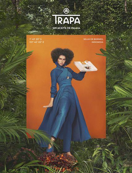 Foto: Así es la campaña publicitaria de Trapa contra el aceite de palma.