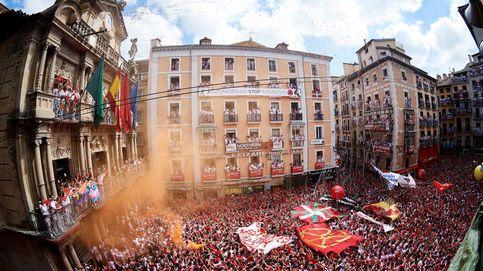 Pamplona veta las banderas en el chupinazo para impedir la politización 'abertzale'