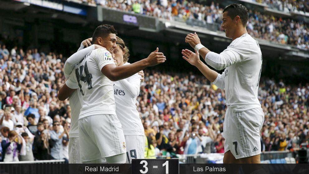 Una guerra relámpago del Madrid para enfocar desde arriba las duras batallas