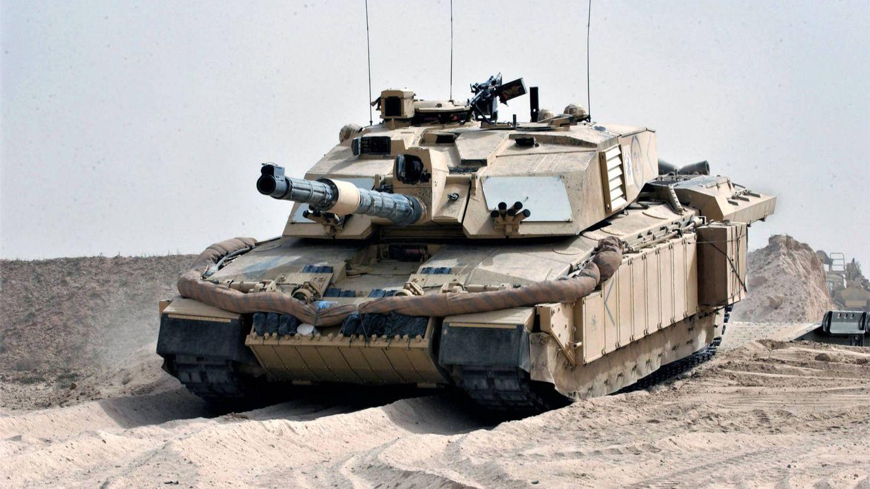 Carro de combate Challenger 2 en Iraq. (MOD)