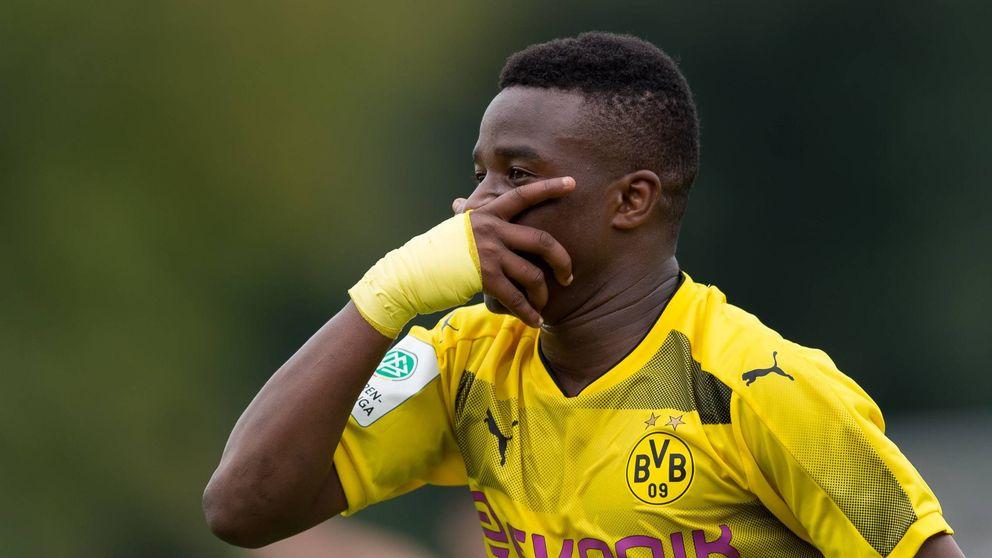 Moukoko, niño prodigio del Dortmund: 13 goles con el juvenil... ¿con 12 años?