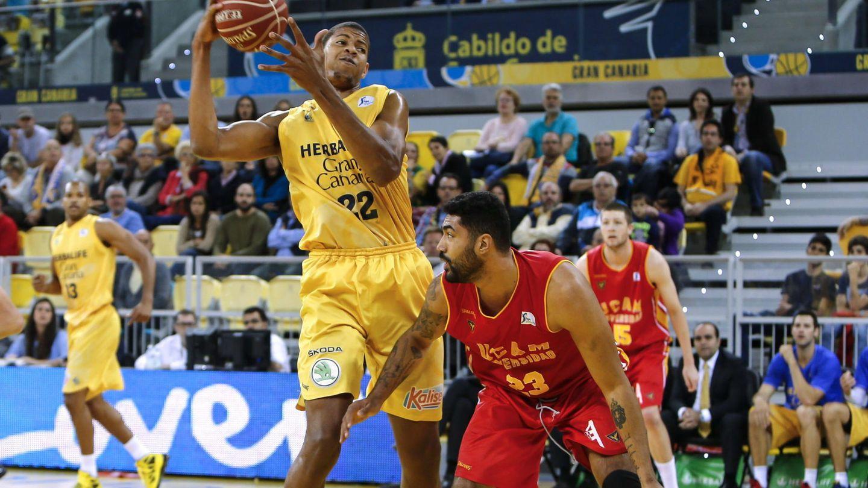 Walter Tavares dejó en 2015 el Gran Canaria, equipo en el que se formó, para fichar por los Atlanta Hawks de la NBA. (EFE)