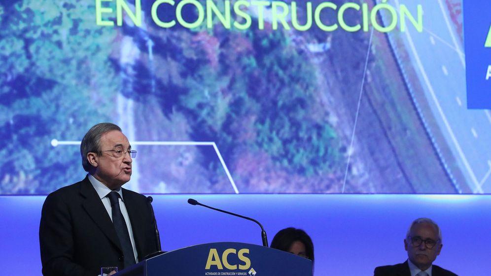 Foto: Florentino Pérez, presidente de ACS. (EFE)