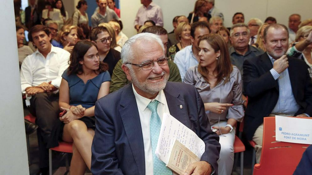 Foto: Juan Cotino, en una reunión del Partido Popular.