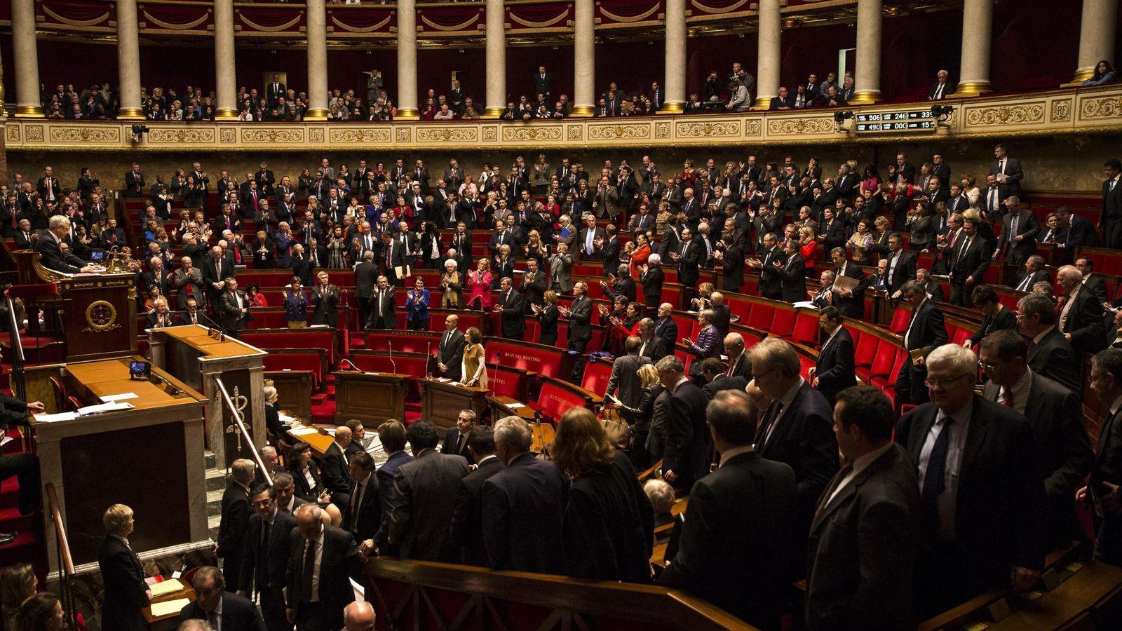 Foto: La asamblea nacional francesa aprueba el reconocimiento de palestina como estado
