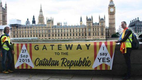 Así corteja (con éxito) el independentismo catalán a la sociedad británica