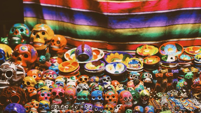 Calavera, símbolo del Día de Difuntos en México.