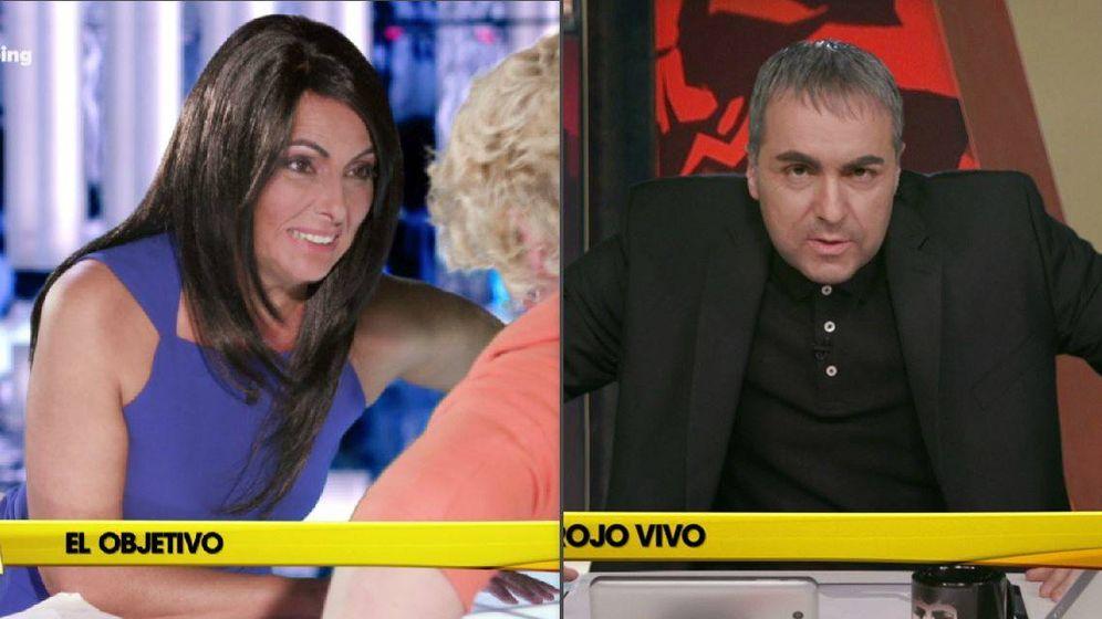 Foto: Imitaciones de Ana Pastor y Ferreras en 'Homo Zapping'