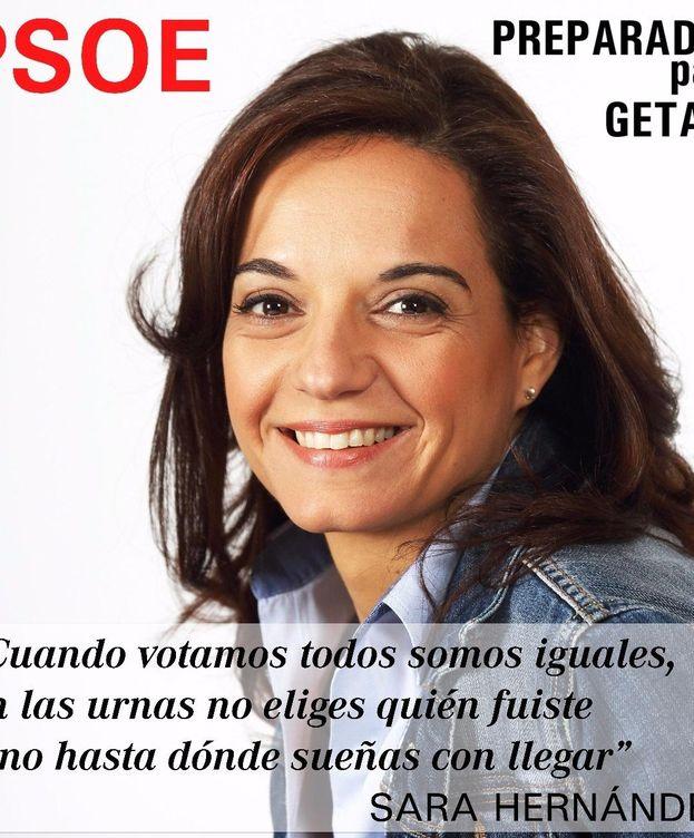 Foto: La alcaldesa de Getafe, Sara Hernández.