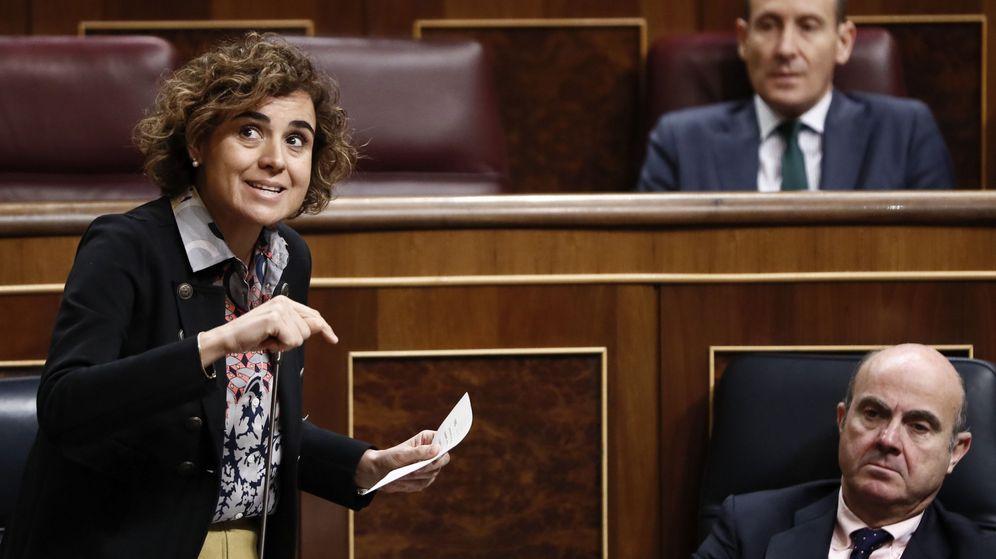Foto: Imagen de archivo de la ministra de Sanidad, Servicios Sociales e Igualdad, Dolors Montserrat. (EFE)
