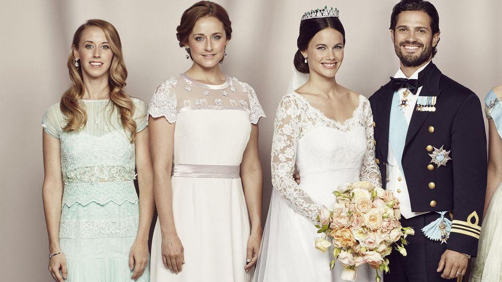 Sofía Hellqvist, dama de honor en la boda de su hermana Lina