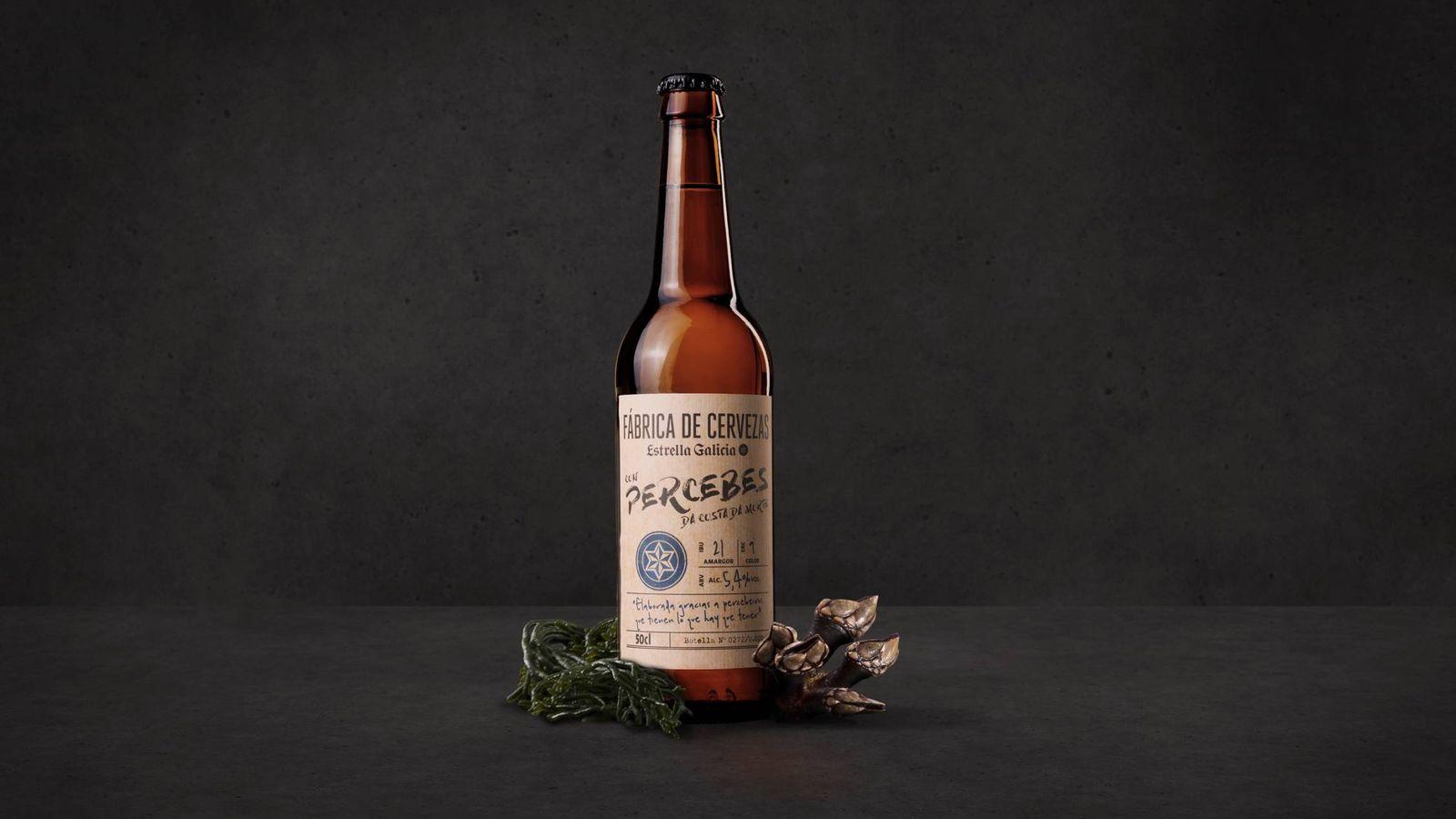 Foto: Cerveza con sabor a percebes.