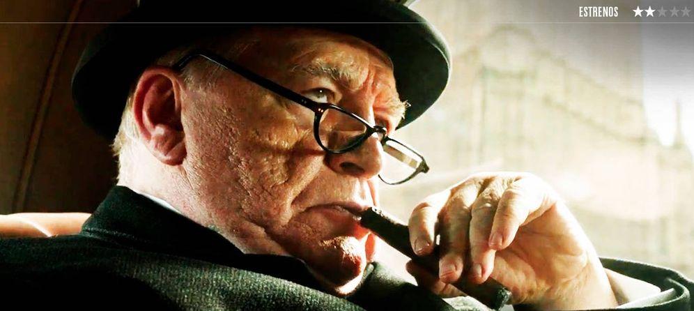 Foto: Brian Cox es el protagonista de 'Churchill'. (A Contracorriente)