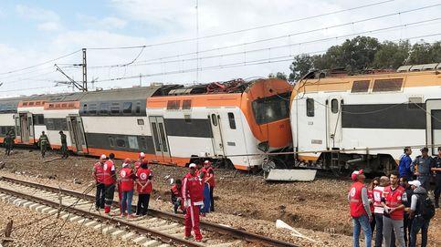 Así ha quedado el tren accidentado en Marruecos