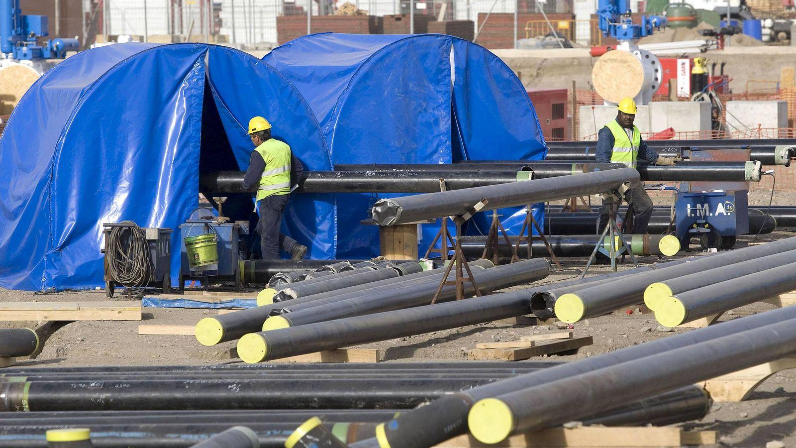 Foto: España tendrá que ampliar sus gaseoductos (Foto: Efe)