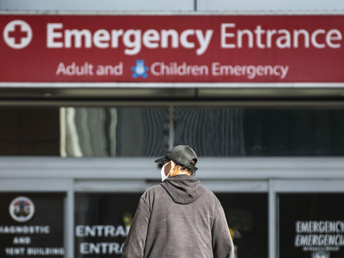 Foto: Un hospital de Los Ángeles, California, EEUU. (EFEE)