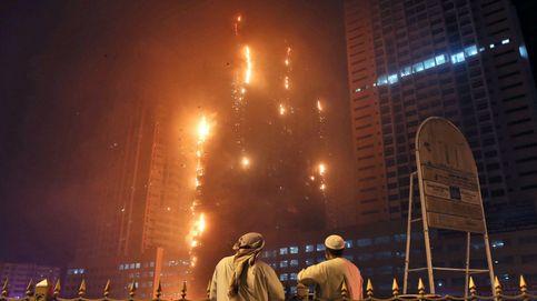 Se incendia un rascacielos en Emiratos Árabes Unidos