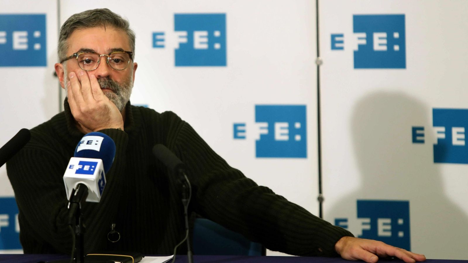 Foto: El candidato de la CUP a la presidencia de la Generalitat, Carles Riera. (EFE)