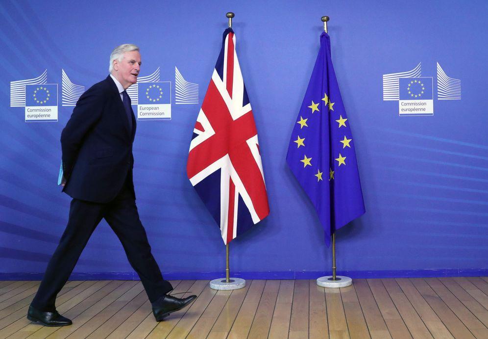 Foto: Michel Barnier, negociador jefe de la Comisión Europea. (Reuters)