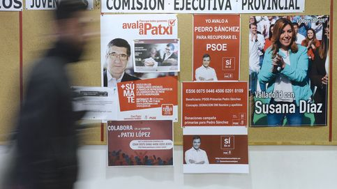Díaz logra el 42% de sus avales en Andalucía y Sánchez arrasa en Cataluña