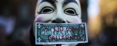 Foto: Anonymous lanza el mayor ataque informático contra EEUU y la industria musical