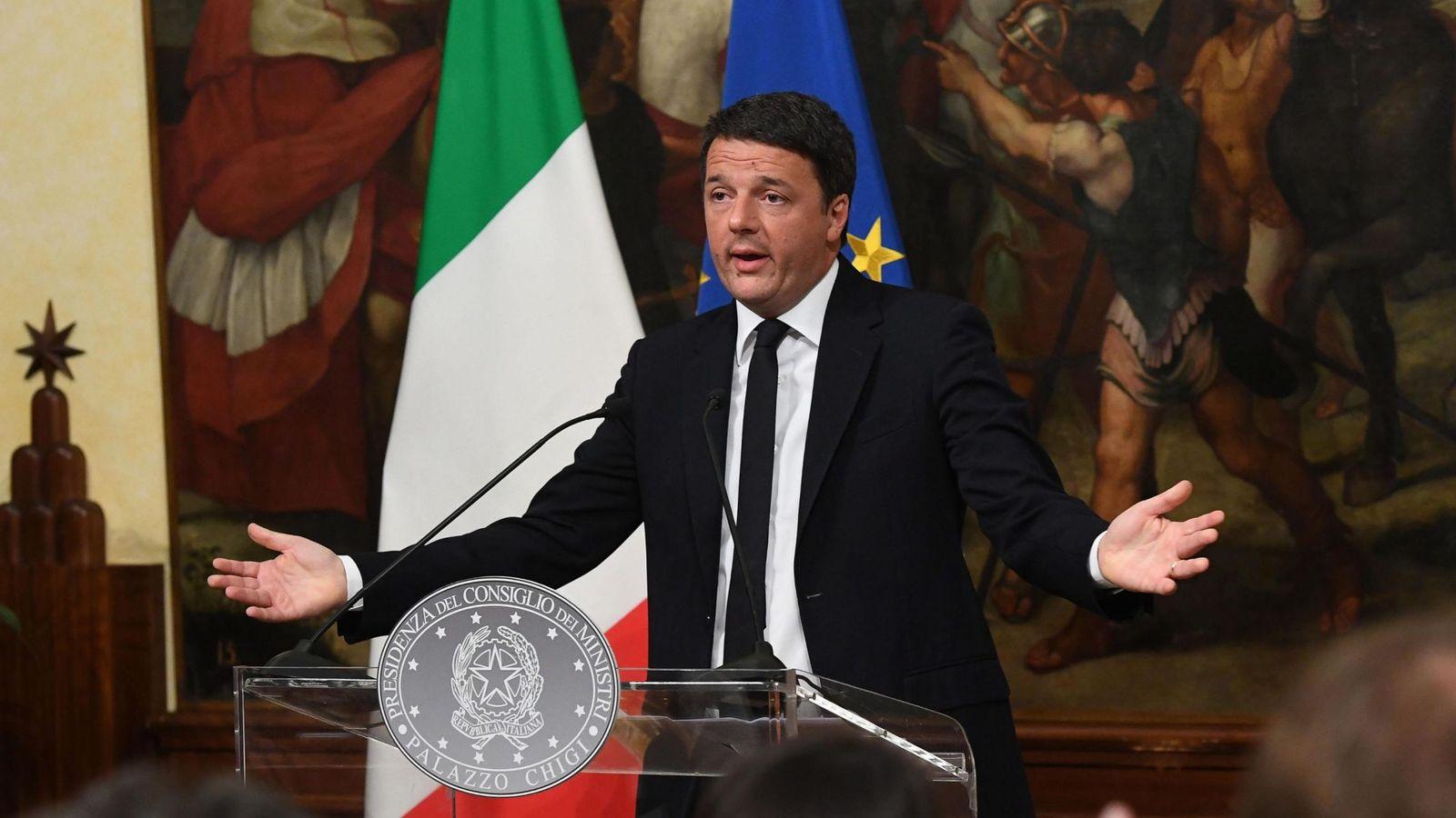 Foto: El primer minisro italiano, Matteo Renzi. (EFE)