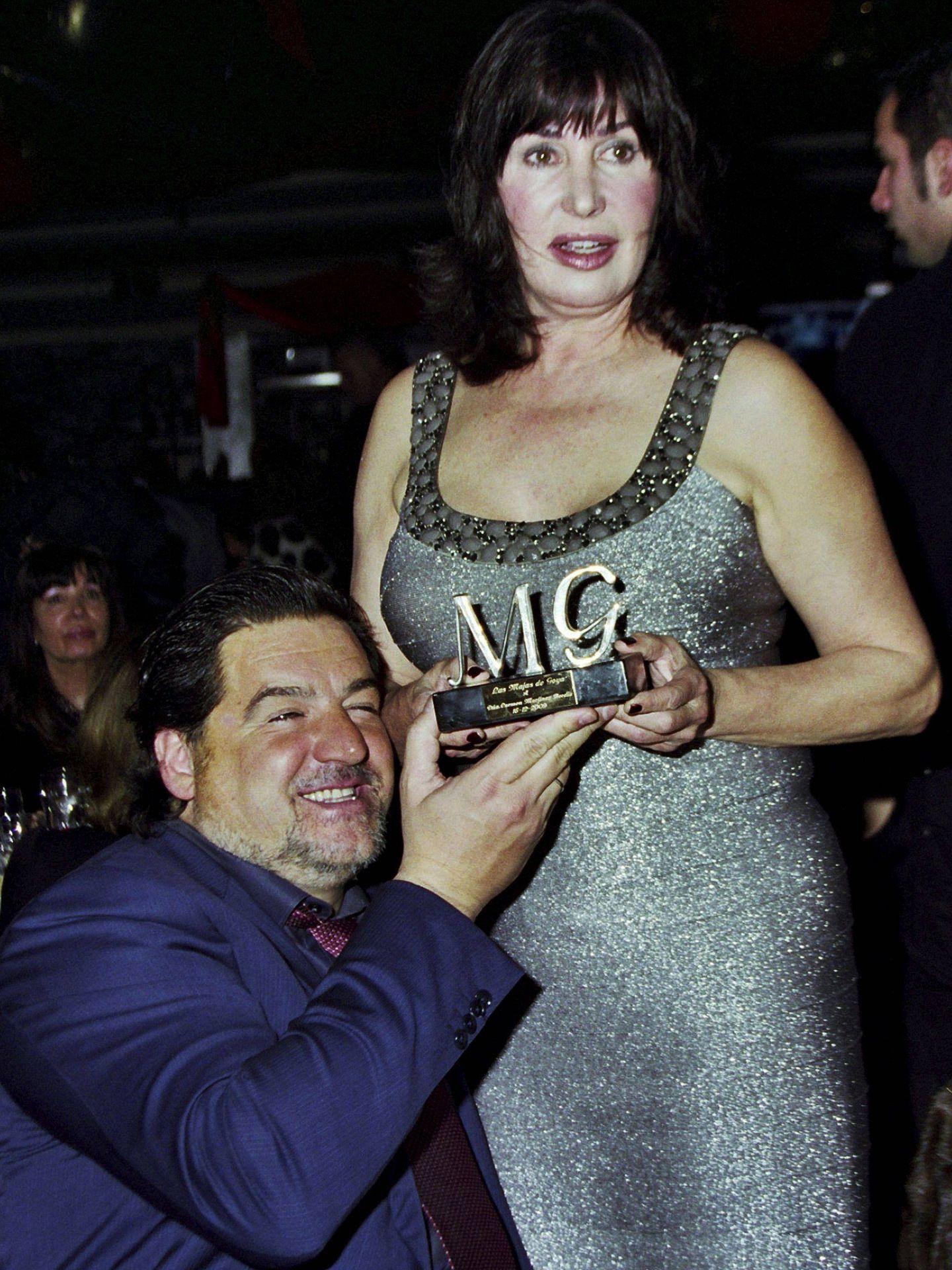 Carmen Martínez-Bordiú Franco y su exmarido, José Campos. (EFE)