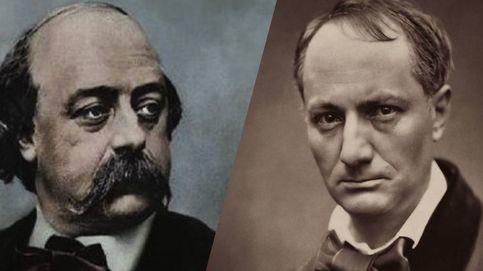 Duelo de malditos: Charles Baudelaire contra Gustave Flaubert