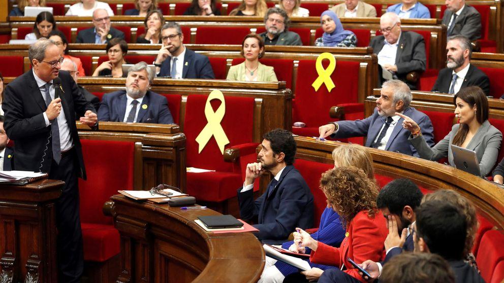 Sánchez lleva al TC los últimos acuerdos del Parlament y le pide que aperciba a Torra