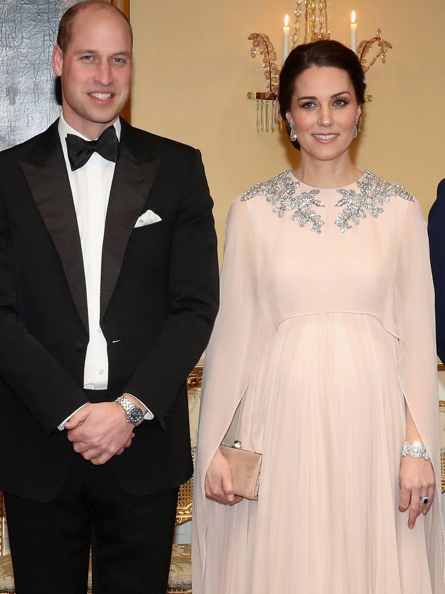 Cena de gala de los duques de Cambridge en Oslo. (CP)