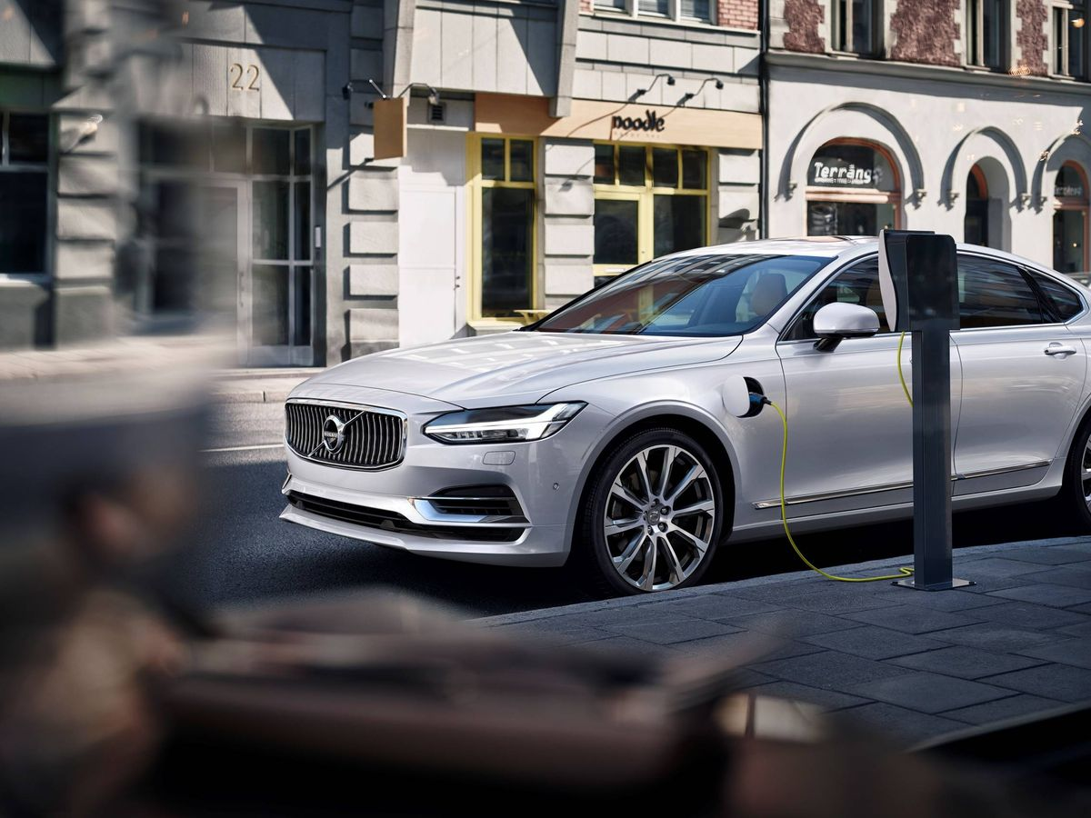 Foto: Volvo S90 híbrido enchufable, uno de los modelos de éxito de la marca de origen sueco.