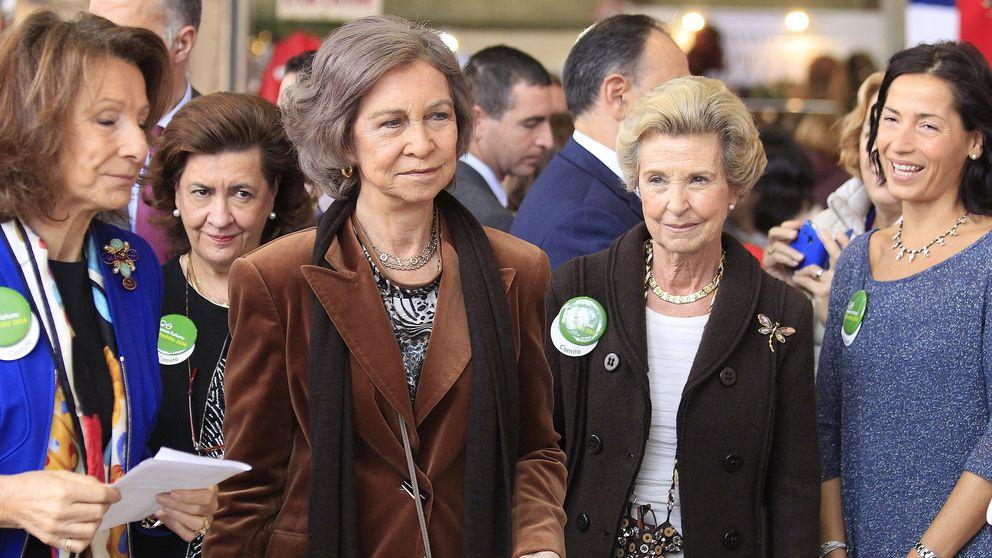 La Reina Doña Sofía se gasta 500 euros en el Rastrillo Nuevo Futuro