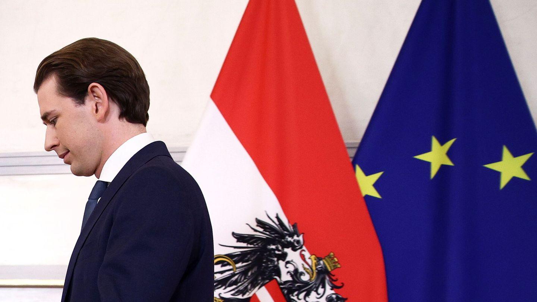 El antiguo canciller de Austria, Sebastian Kurz. (Reuters)