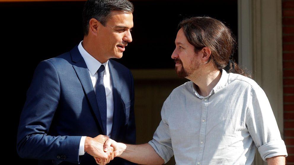 Pablo Iglesias defiende a Pedro Sánchez ante las críticas por el acceso a su tesis