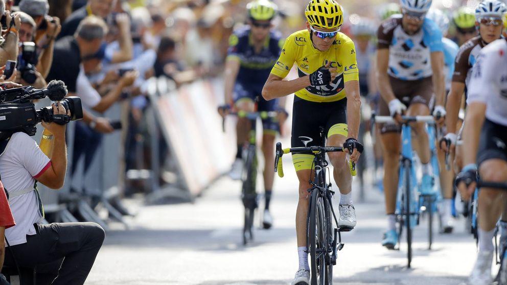 Froome se mete en el bolsillo su cuarto Tour y Landa, a un segundo del podio
