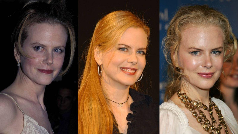Nicole Kidman, en 1997, 2001, 2005. (Getty)