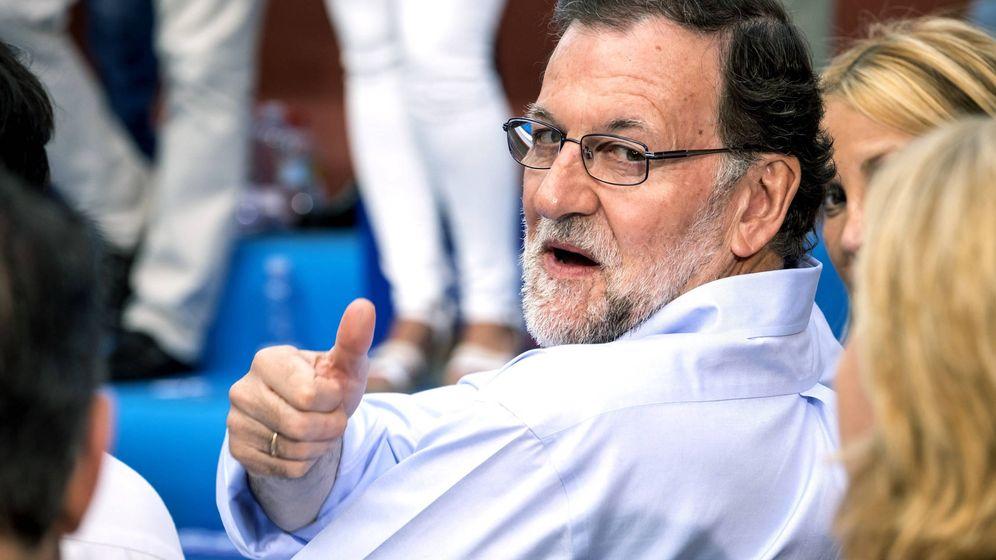 Foto: Mariano Rajoy en un acto del PP en Las Palmas de Gran Canaria (EFE)